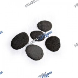 "Small black River stones - 1""-3"" aprox"