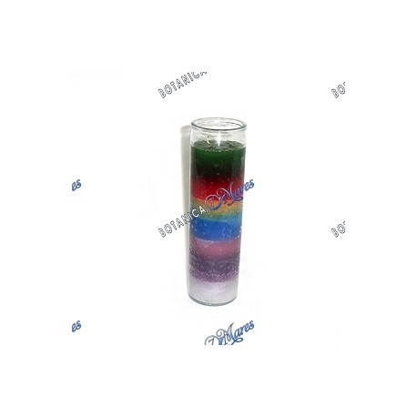 <p>Prayer candle 7 African powers - 7 potencias africanas</p>