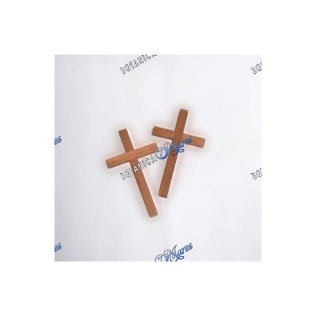 <p>Cedar cross 6 cm., Cruz de Cedro</p>