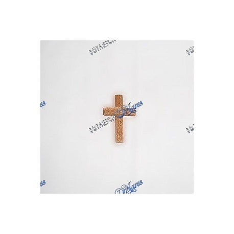 <p>Cedar cross 3 cm., Cruz de Cedro</p>