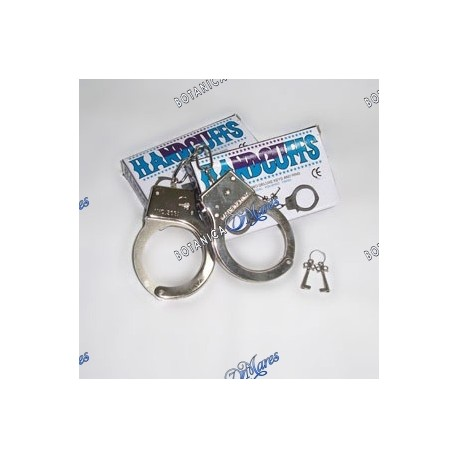 Handcuffs with Key, Steinless Steel Real Size