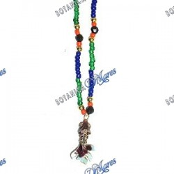 Necklace (Eleke) Inle With Metal Fish