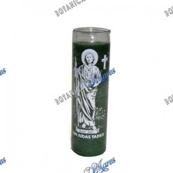<p>Prayer candle for St. Jude - Vela con oración para San Juda</p>