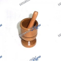 Wooden Mortar Small