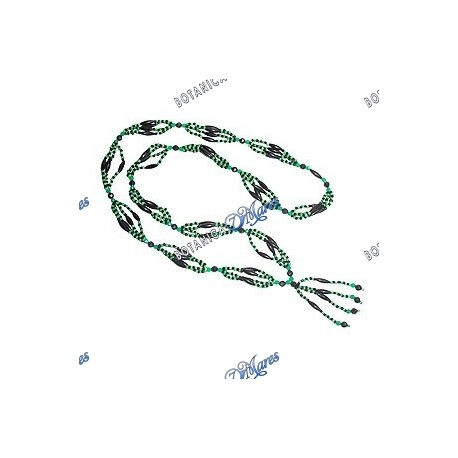 <p>Beaded mazo for Oggun (small) 31 inches</p>