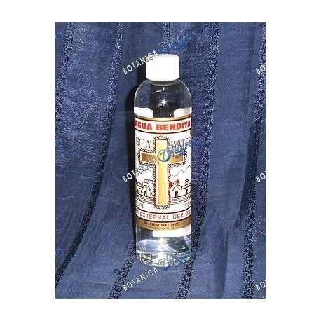 <p>Agua Bendita - Holy water 8 0z.</p>