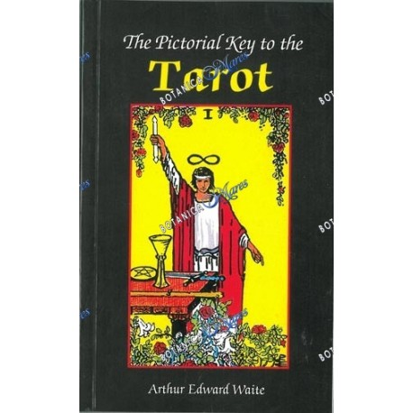 <p>The Pictorial Key to the Tarot.</p> <p>Arthur Edward Waite.</p> <p> </p> <p>Book is in English.</p>