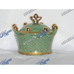 "Crown Porcelain Tureen for Orula or Inle y Obata 4.5""X5"""