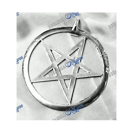<p>5 pointed star silver plated</p>