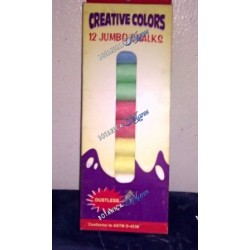 <p>12 color chalk jumbo</p>