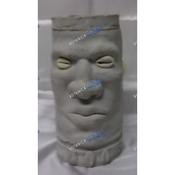 Elegua Large Two Faces 8""