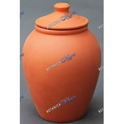 "Clay Jar Large - River Pot 12""H X 8.5""W"
