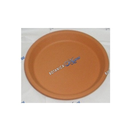 """Clay Plate Small 4""""W X0.5"""" H"""