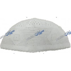 Ceremonial Hat White Knitted Iyawo