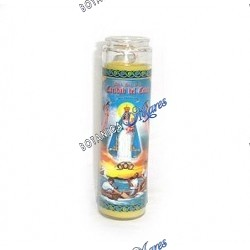 7 Days Our Lady of Charity Candles (1 bx/12 units)