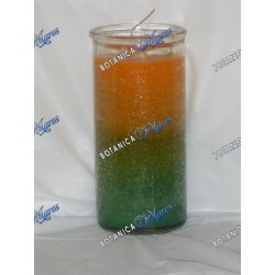 7 Days Orula Candles (1 bx/ 12 units) Green and Yellow