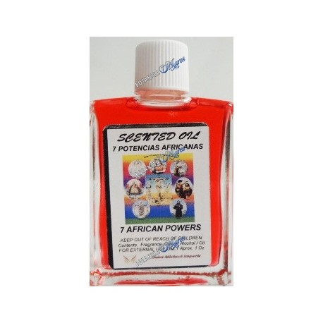 7 African Powers Oil 1 oz