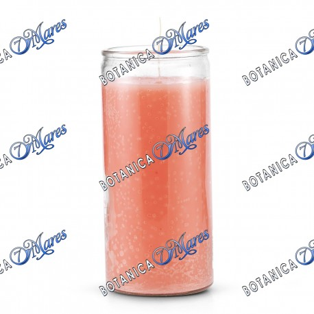 14 Days Candles (1 bx/6 units) Pink