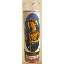 7 Days Saint Barbara Candles (1 bx/12 units)