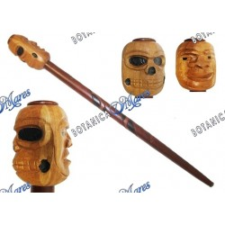 "Cane Eggun 2 Faces (male-male) 1"" hole"
