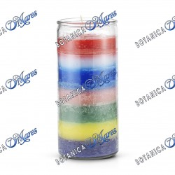 14 Days Candles(1 unit) 7 Colors