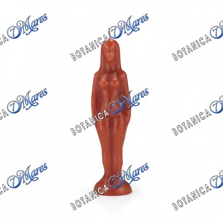 WOMAN RED CANDLE