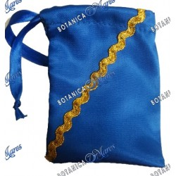 "Diloggun Bag Satin 3""x4"" for Inle / Orula"