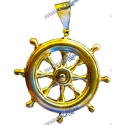 Boat Steering Wheel Gold