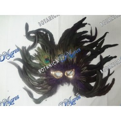 Feather Mask Purple Base