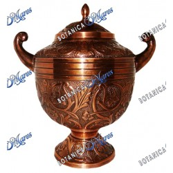 Copper Urn For Oya 11W x 11H