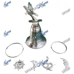 Obatala Tools with Dove Bell