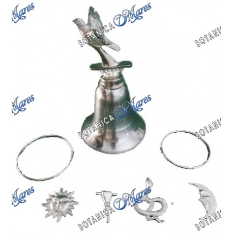 Tools for Obatala with Dove Bell