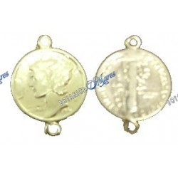 Small Coin goldfilled