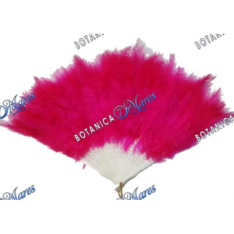 Pink Feather Fan for Obba