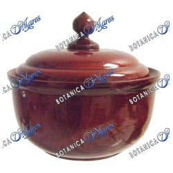 "Mahogany Color Wooden Powder box for Orula 5.5""H x 6""W x 2"" Depth"