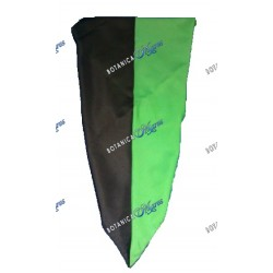 "Black & Green Handkerchief Large 36"" x 36"""
