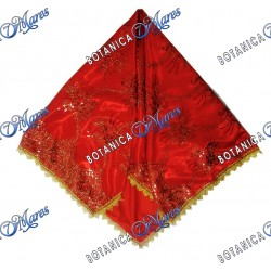EMBROIDERED HANDKERCHIEF FOR SHANGO XTRALARGE 50X44""