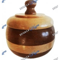 Wooden Powder Box 6""